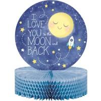 Centerpiece Tema To The Moon And Back - perlengkapan pesta ulang tahun