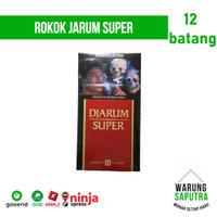 Rokok Djarum / Jarum Super 12 per Bungkus