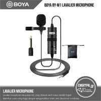 Microphone Clip On BOYA BY-M1 Lavalier VLOG Mic BY M1