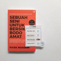Buku Sebuah Seni Untuk Bersikap Bodo Amat (Best Seller) - Mark Manson