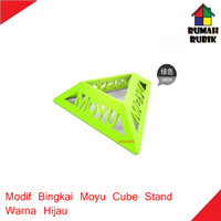Modif Bingkai Model Moyu / Moyu Cube Stand Green
