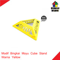 Modif Bingkai Model Moyu / Moyu Cube Stand Yellow