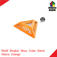 Modif Bingkai Model Moyu / Moyu Cube Stand Orange