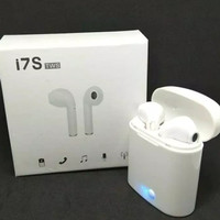 Jual Earphone i7S Airpods for Hp, Tablet, Laptop With Charging Case