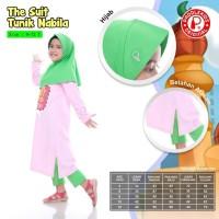 Baju muslim anak tunik set paddle kids