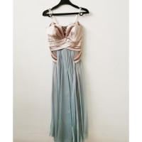 Strapless Long Party Cocktail Evening Dress preloved