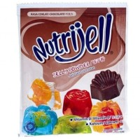 Nutrijell Ekonomis Coklat Bubuk Jelly Nutrijel