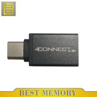 4Connect Type-C Male to USB 3.0 A Female Adapter Converter USB 3.1 OTG