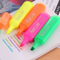 XinLu Bukan Merk Stabilo Boss Highlighter Joyko Neon XL-2188 isi 3 Pcs