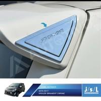 New Agya 2017 Spoiler Ornament Chrome/Aksesoris Toyota Agya