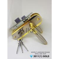 (KOMPLIT) Handle TEBAL 15cm + body kunci pintu set KUALITAS TEBAL TOP