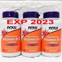 Now Foods Vitamin D3 1000IU Now Food Vit D3 D-3 1000IU 1000 IU 180S