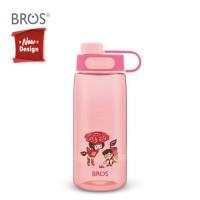 BROS Botol Minum Anak (600ML) Dual Mouth / Wego Tropical Garden