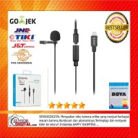 MIC Boya BY-M2 Clip-on Lavalier Microphone for iOS ORI RESMI