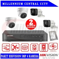 PAKET CCTV CAMERA HIKVISION 4CH 5MP + HARDISK 1TB
