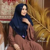 Hijab Instan Pet Antem Serut depan Brand Hijab Ar Rafi AR 340