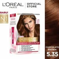Loreal Paris Excellence Creme Chocolate Brown 5.35 - Semir Rambut