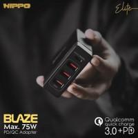 HIPPO ELITE BLAZE 4 Port Adapter Charger QC 3 for IPAD MACBOOK IPHONE