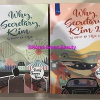PROMO NOVEL WHY SECRETARY KIM (COMPLETE SERIES) - JEONG GYEONG YUN