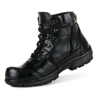 Sepatu Safety Boots Pria Crocodile Boot Kulit Safety Shoes Leather