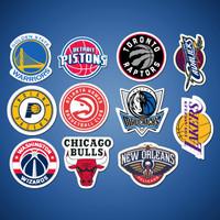 Stiker/Sticker Basketball untuk Laptop, Mobil, Koper, dll