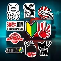 Stiker/Sticker JDM 2 untuk Laptop, Mobil, Koper, dll