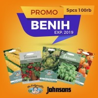 [PROMO] Benih Tanaman 5pcs Exp 2019 (Mr. Fothergill's & Johnsons)