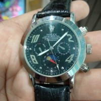 jam tangan pria rolex otomatis chronograph