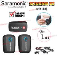 Mic Saramonic Blink 500 BI B2 Dual Channel Wireless Mic Vlog