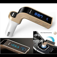 car charger G7 LED transmiter bluetooth saver 4 in 1 wireless