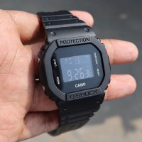 Jam Tangan Pria Casio G-Shock DW5600BB Cowok Warna Hitam