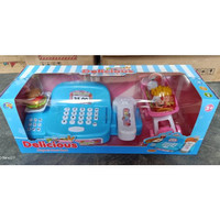 Mainan Mesin Kasir Delicious Supermaket | Cash Register LK3