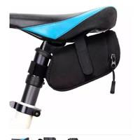 Tas Handphone Sepeda MTB Anti Air 5 Inch untuk Frame Depan Sepeda