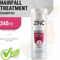 ZINC Hair Fall Treatment Gingseng Extract 340ml Shampo Rambut Rontok