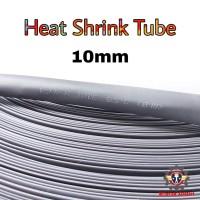 Heat Shrink Tube 10mm Selongsong Bakar Selang Bakar 1meter - Hitam