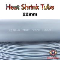 Heat Shrink Tube 22mm Selongsong Bakar Selang Bakar 1meter - Hitam