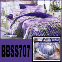 BED COVER BEDCOVER SET MURAH Promo New Badcover King/queen size EVELYN