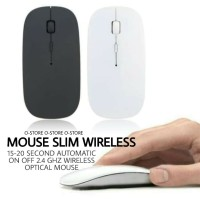 SMART Slim Mouse Wireless 2.4 GHZ USB Receiver Windows Apple Macbook
