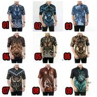 Hem Batik Pria Lengan Pendek - Size M L XL - Terbaru