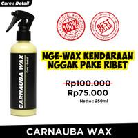 Spray Wax | Carnauba Wax Infusion Liquid Pengkilap Mobil Motor Helm