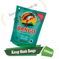 KECAP BANGO 220ML 12 POUCH - GROSIR KECAP TERMURAH REFILL