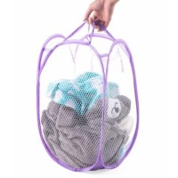 keranjang baju warna polos / keranjang baju kotor Lipat Laundry Bag