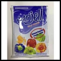 nutrijell nutrijel ekonomis jelly powder rasa blueberry 10 gr