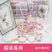 Mainan Anak Perempuan - Manik Gelang, Kalung, Beads - Edukasi -DIY