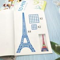 Buku 40 Pattern 3D Pen