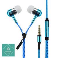 Headset Zipper Earphone Seleting Resleting Bass Handsfree