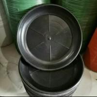 Tatakan pot plastik 25 cm