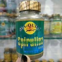 seaquill sea quill spirulina 500mg 500 mg 30 tabs