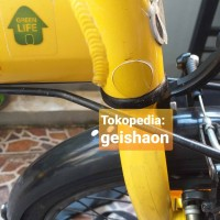 Pelindung Frame Sepeda Lipat Stiker Sticker