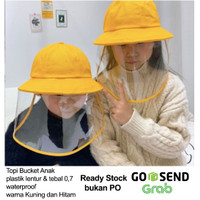 Topi Corona (ready stok) pelindung dari semburan droplet Virus - Anak